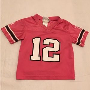 UCLA Bruins 2t girls pink football jersey